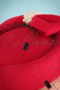 Banned Judy Hat in Red 201 20 22218 02W