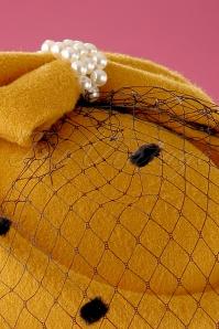 Banned Judy Hat in mustard 201 80 22221 02W