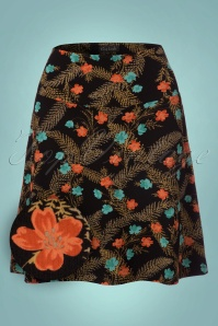 King Louie Floral Border Skirt 123 14 21397 20170921 0004W1