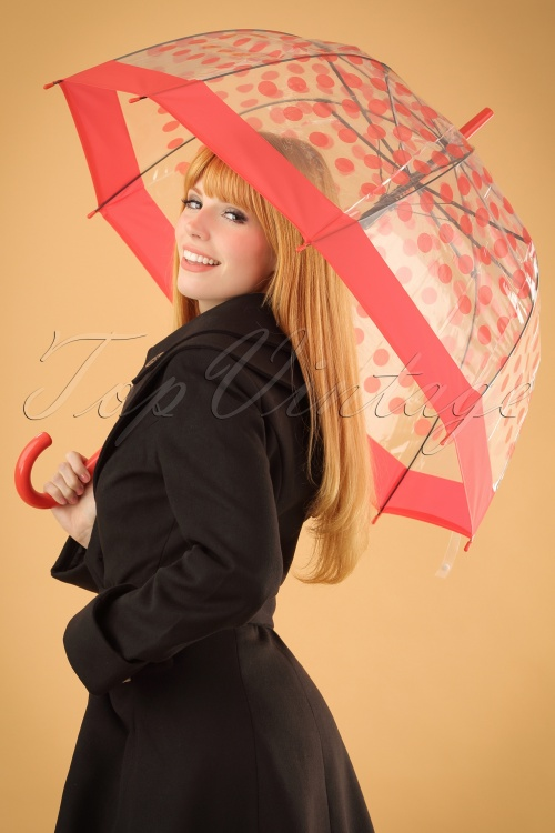 ZaZoo umbrella red dots 270 27 22882W