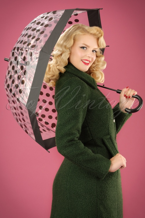 ZaZoo Umbrella Black Dots 270 14 22881W