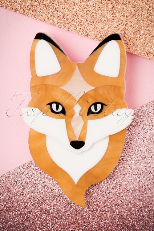 Deer Arrow Fern The Fox Brooch 340 21 22321 19092017 008W