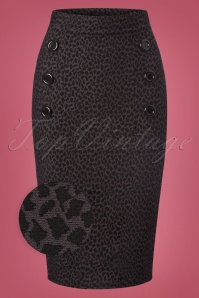 Vintage Chic Leopard Button Pencil Skirt 120 39 22500 20170921 0002wv