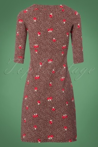 Blutsgeschwister Mushroom Forest Brown Dress 100 69 21671 20170922 0006W