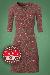 Blutsgeschwister Mushroom Forest Brown Dress 100 69 21671 20170922 0001W1
