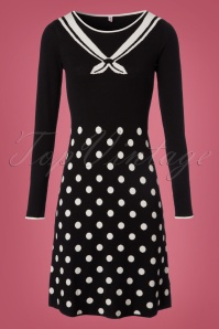 Blutsgeschwister Three Wishes Sailor Polkadot Dress 100 14 21664 20170922 0001W