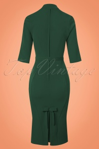 Miss Candyfloss Green Pencil Dress 100 40 22128 20170725 0003w