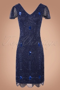 GatsbyLady 20s Blue Sparkling Flapper Dress 100 31 22646 20170922 0002w
