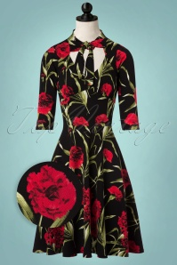 Vintage Chic Floral Swing Dress 102 14 22501 20170925 0003wvdoll