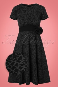 Vintage Chic Fit and Flare Leopard Print Dress 102 39 22762 20170925 0004wv