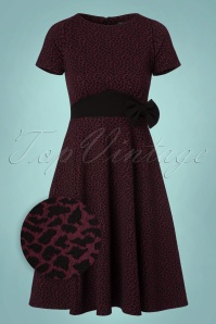 Vintage Chic Fit and Flare Leopard Print Dress 102 27 22761 20170925 0004wv