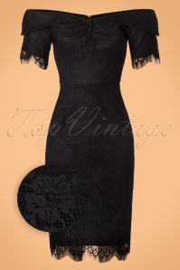 Dolly and Dotty Black Lace Dress 100 10 22977 20170926 0001wv