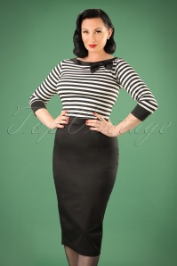 Bunny 50s Frankie Skirt in Black 120 10 10938 20151016 394W