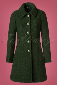 King Louie Laura Coat Veggie in Forest Green 152 40 21381 20170830 0003W
