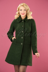 King Louie Laura Coat Veggie in Forest Green 152 40 21381 20170830 0003 (2)w