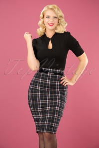 Banned Bliss Skirt in Navy 120 14 22365 20170828 0011 (2)w