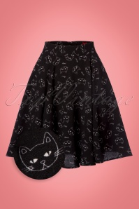 Bunny Matou Mini Skirt in Black 122 14 22619 20170928 0002wv