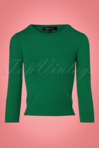 Mak Sweater Uni Sweater in Kelly Green 113 40 23268 20171002 0002w
