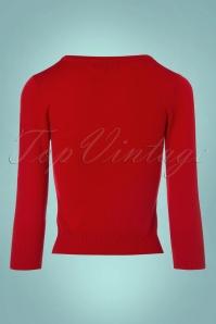 Mak Sweater Uni Sweater in Tomato Red 113 20 23269 20171002 0008w