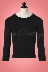 Mak Sweater Uni Sweater in Black 113 10 23266 20171002 0007wdoll