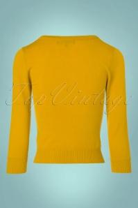 Mak Sweater Uni Sweater in Honey Yellow 113 80 23267 20171002 0008w