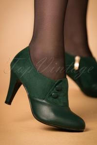 Lulu Hun Maria Booties green 430 40 21701 27092017 005W