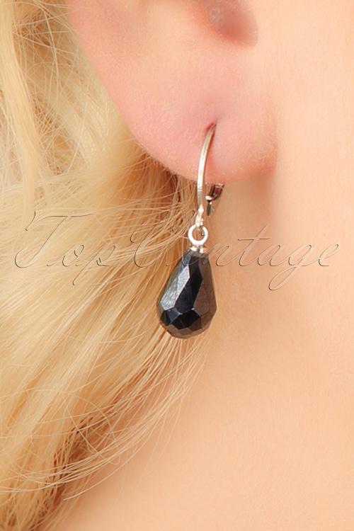 Glamfemme Hematite earrings 333 92 23005aW