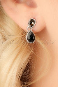 Glamfemme Black Diamond earrings 333 10 22988aW