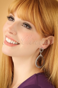 Glamfemme Rhodium Earrings 333 92 22999W