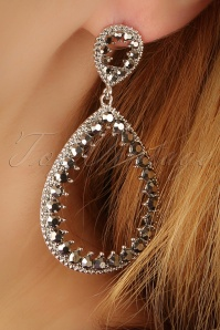 Glamfemme Rhodium Earrings 333 92 22999aW