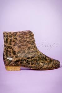 Missy Leopard Print Glitter Rainboot 440 70 23377 27092017 012pW