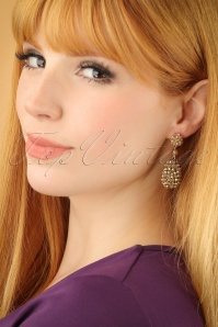 Glamfemme Gold Earrings 333 91 22995W