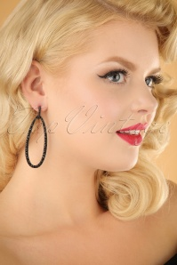 Glamfemme Black earrings 333 10 22998W