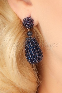 Glamfemme Blue earrings 333 30 22994aW