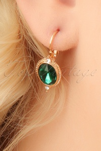 Glamfemme Green Earrings 333 20 23007aW