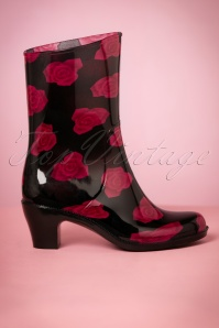 Missy Black Red Rainboot 440 10 23378 27092017 008W