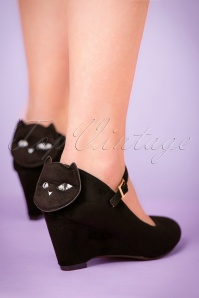 Lulu Hun Kat Wedge Black 402 10 21702 27092017 007pW