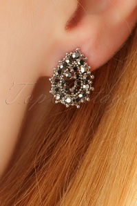 Glamfemme Rhodium Earrings 333 92 23001aW