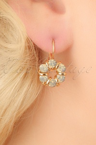 Glamfemme Grey Gold Earrings 333 15 23003aW