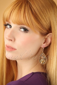 Glamfemme Champagne Earrings 333 91 23014W