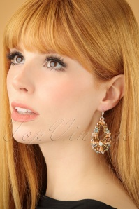 Glamfemme Chamagne earrings 333 91 23012W