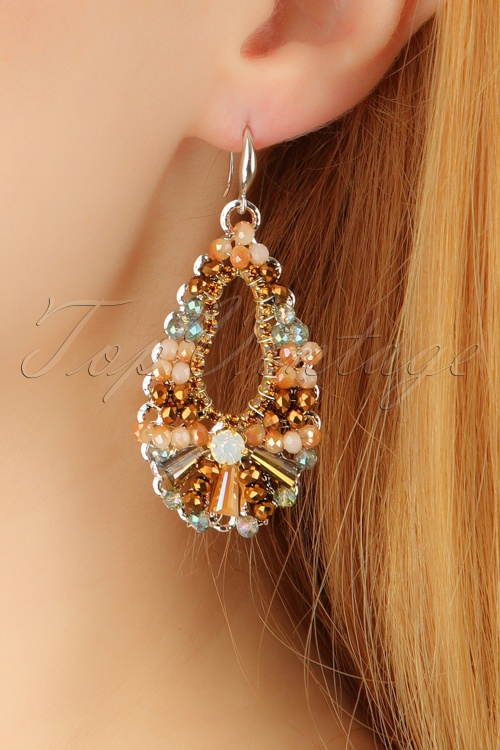 Glamfemme Chamagne earrings 333 91 23012aW