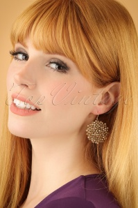 Glamfemme Gold Earrings 333 91 22996W