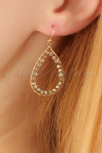 Glamfemme Gold Earrings 333 91 23004aW