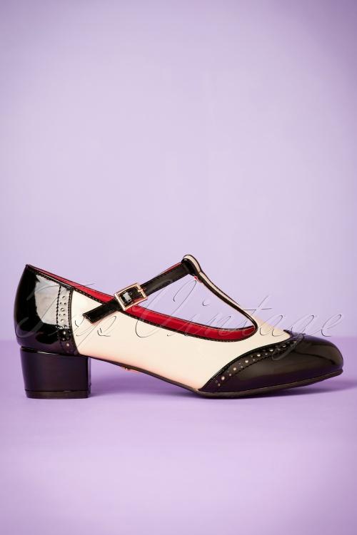 52e8f9ce276e Lulu Hun Georgia Black Shoes 401 50 21705 27092017 006pW