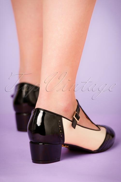 684b0544f47c Lulu Hun Georgia Black Shoes 401 50 21705 27092017 005pW