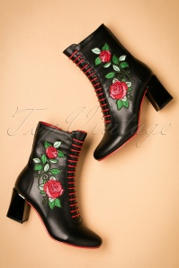 Dancing Days banned Fantasy Boots in black 430 10 22449 25092017 009W
