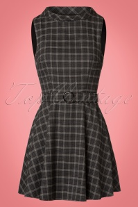 Bright and Beautiful Ruth Flared Tweed Dress in Grey 21679 20170613 0002w