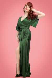 Collectif Clothing Akiko Maxi Dress in Olive 21825 20170612 0016