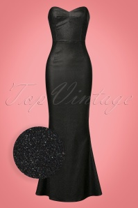 Collectif Clothing Delilah Vegas Maxi Dress in Black 21823 20170615 00014wv
